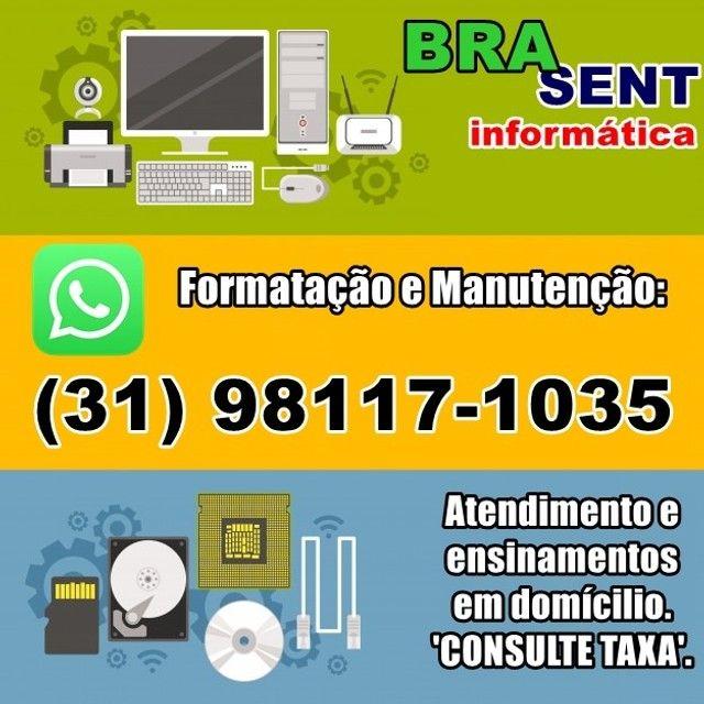 Serviços de Informática -Manutenção, Formatação, Aulas, Restauração e outros