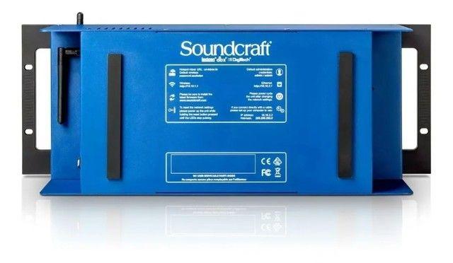 Mesa De Som Digital Soundcraft Ui24r 24 Canais - Foto 4