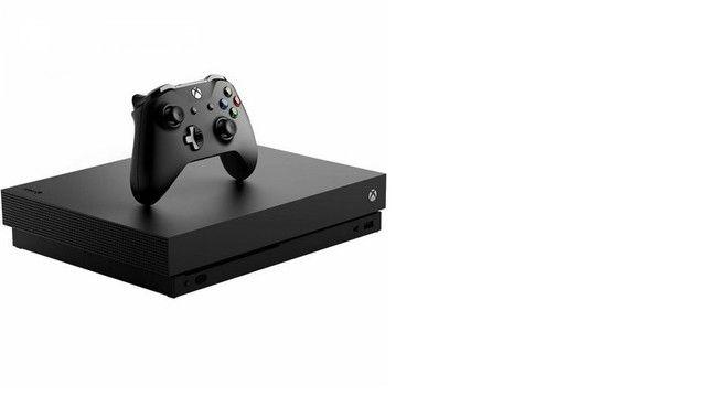 Xbox One X em ótimo estado de conservação. - Foto 2