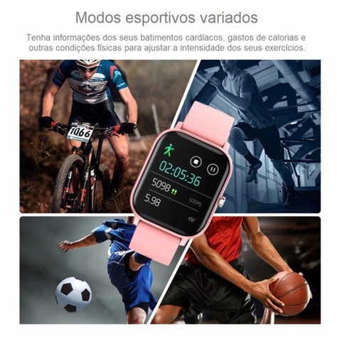 Smart Watch P8 - Rosa - Foto 2