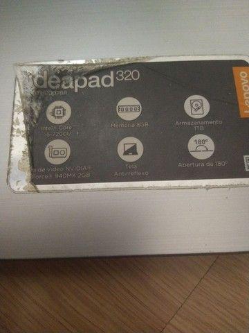 Computador Notebook usado, Lenovo IdeaPad 320 - Foto 2