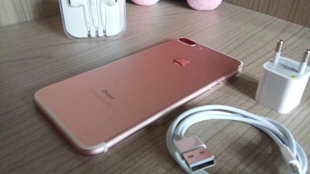 Iphone 7 plus rose 128gb