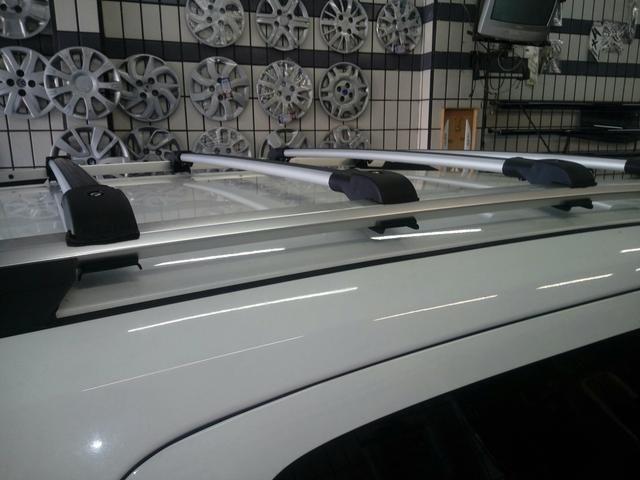 Rack Travessa Teto Chevrolet Spin - Foto 4
