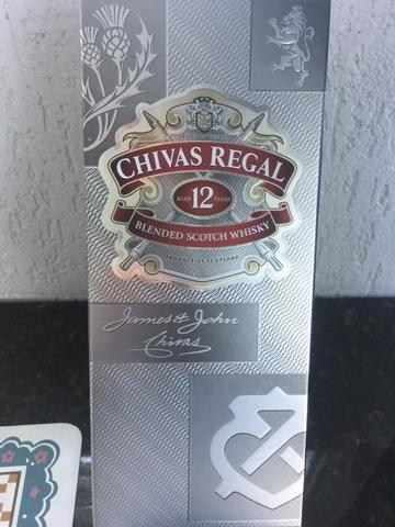 Wisk Chivas 12 anos original lacrado na embalagem garantia