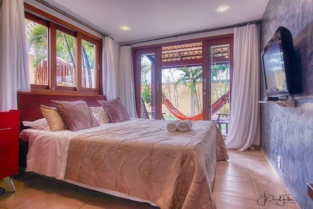 Casa luxuosa com jacuzzi e vista para o mar no Pipa Beleza Spa Resort - Foto 12