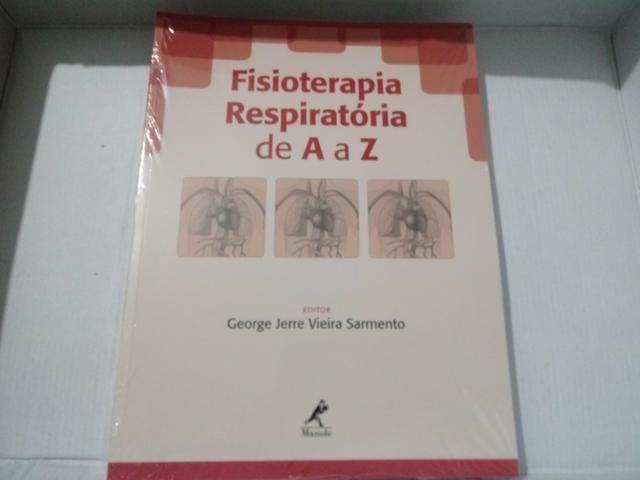 Livro fisioterapia respiratória de A a Z