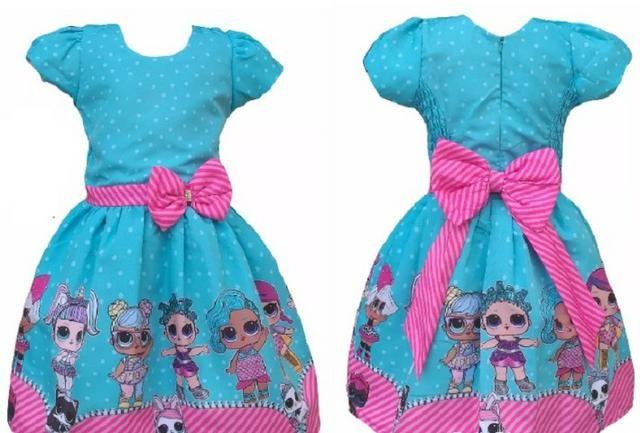Vestido Lol - Watshap (31)999353822 - Veste de 2 a 3 anos