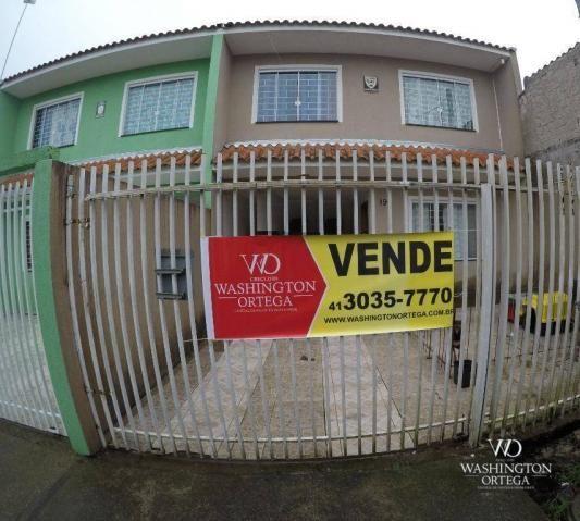 Sobrado com 3 dormitórios à venda, 84 m² por r$ 280.000 - costeira - são josé dos pinhais/
