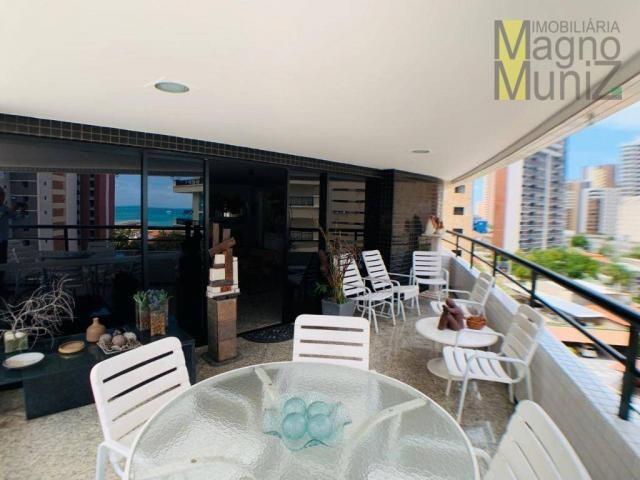 Apartamento de alto padrão à venda, 253 m² por r$ 1.650.000 - meireles - fortaleza/ce - Foto 6