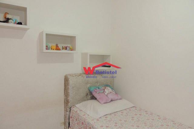 Casa com 3 dormitórios à venda, 50 m² por r$ 198.000 - rua jaguariaíva nº 288 - vila são j - Foto 17