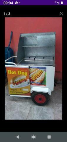 Carrinho de cachorro quente - Foto 3