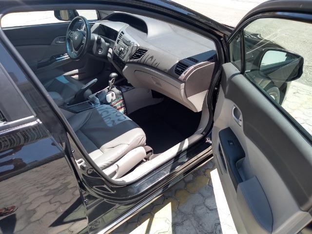 Honda Civic 13/14 lxs aut - Foto 2