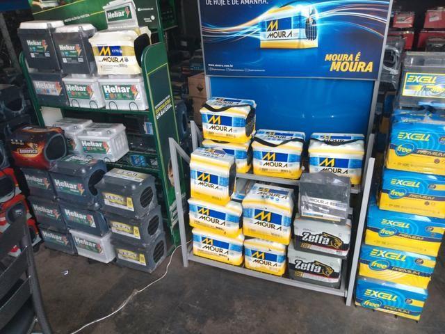 Bateria de tudo pra seu carro ou moto Duracar