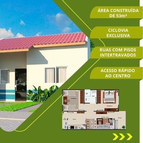 Casa no Luiz Gonzaga - 5 mil de sinal - 2 qts mensais de 399 reias de financiamento - Foto 13