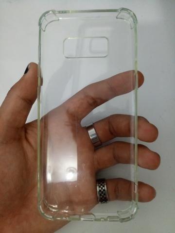 Capinha Galaxy S8 transparente e anti-impacto