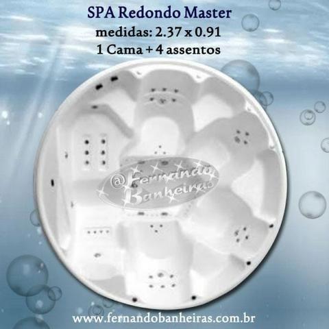 Banheiras SPA Redondo Master de Hidromassagem
