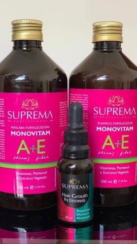 Kit monovitam + ampola minoxidil