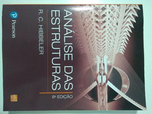 Análise das Estruturas - R.C. Hibbeler - Livro Novo - Foto 2