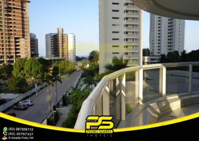 Oportunidade, apartamento p/alugar, 04 suítes, piscina, 05 vagas, 332,75m², por apenas R$  - Foto 7