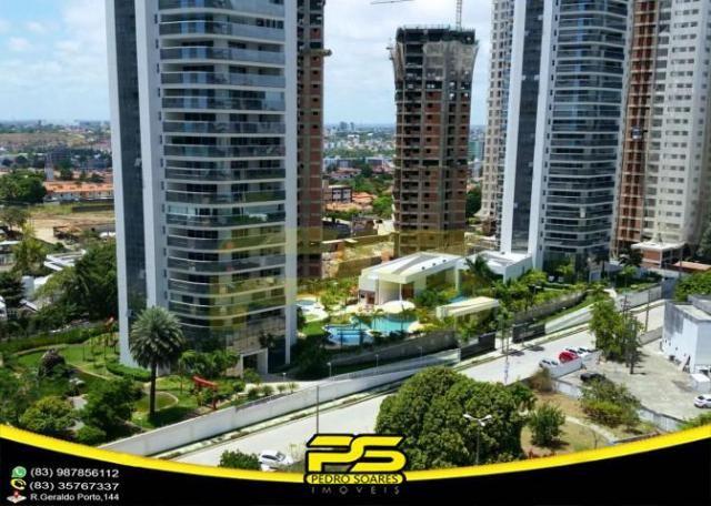 Oportunidade, apartamento p/alugar, 04 suítes, piscina, 05 vagas, 332,75m², por apenas R$  - Foto 13