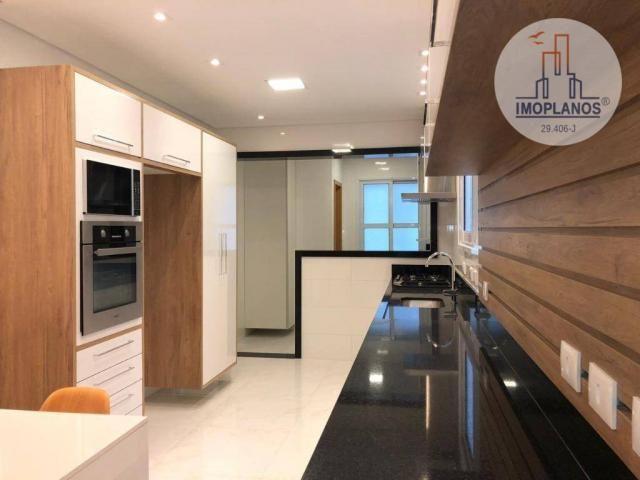 Belíssimo apartamento com 3 dormitórios à venda, 124 m² por R$ 837.585 - Canto do Forte -  - Foto 18