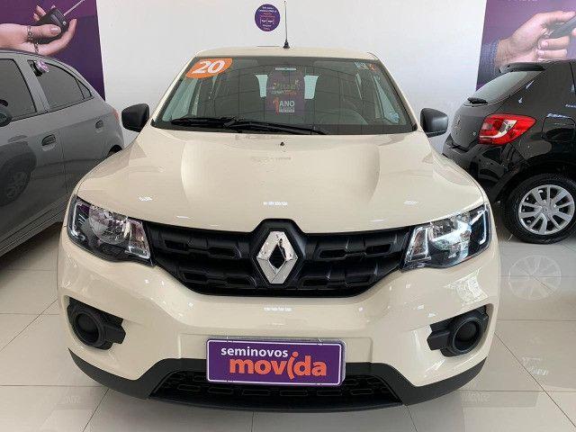 Renault Kwid Zen 2020 - único dono, garantia de 01 ano! - Foto 6