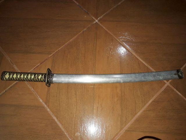 Espada Katana com fio