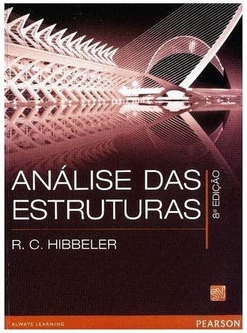Análise das Estruturas - R.C. Hibbeler - Livro Novo