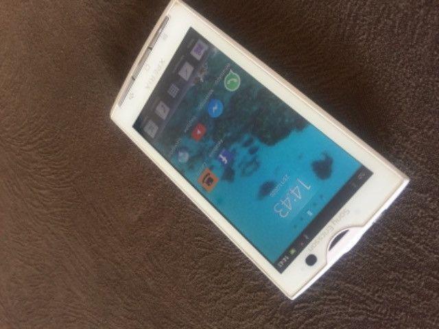 Celular Sony Ericssom xperia Branco - Foto 5
