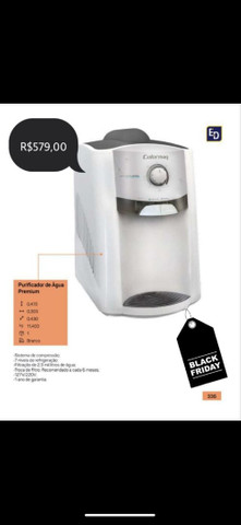 Filtro de água com refrigeração Mega oferta !!!