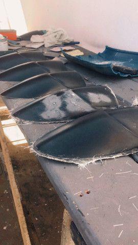 Laminador em fibra de vidro para trabalhar com moldes - Foto 6
