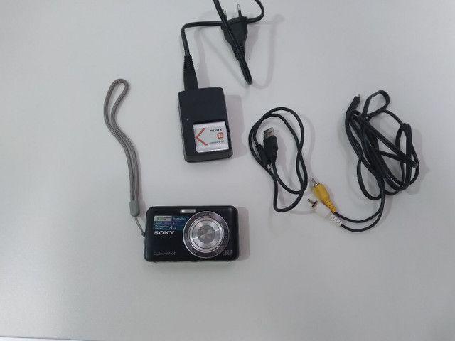 Câmera Sony cyber shot novíssima  - Foto 5