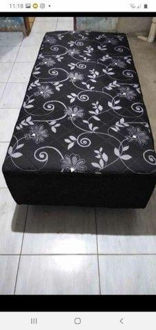 Temos cama box acolchoadas com frente grátis  - Foto 2