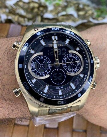 Relógios Masculinos Tecnhos originais - Foto 2