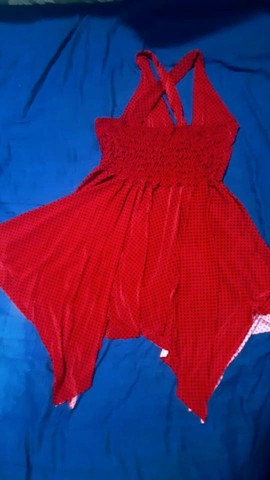 Vendo esse lindo vestido vermelho. - Foto 4