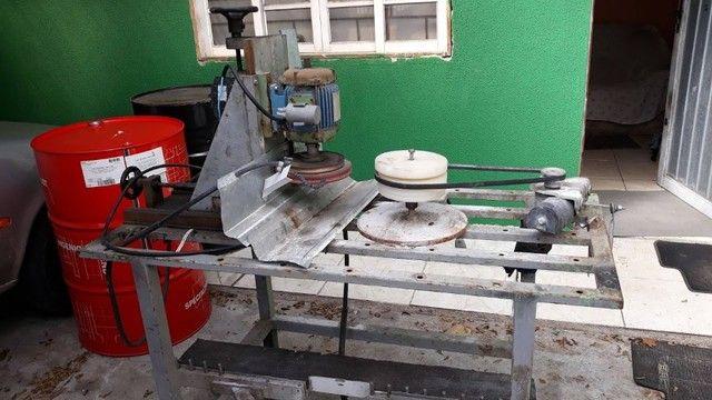 Maquina de lapidar Vidro Redondo