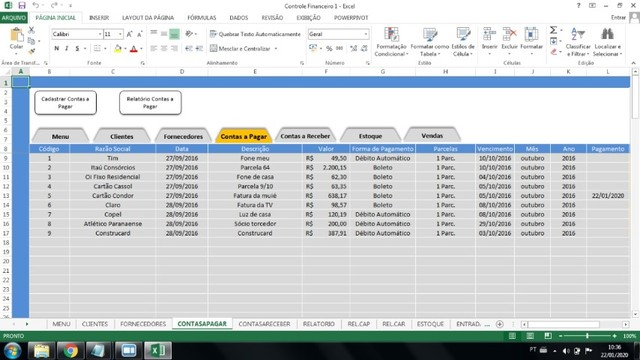 pacote planilhas profissionais 140 planilhas profissionais + 50 sistemas access para MEI - Foto 4