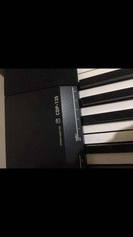 Piano eletrônico CDP-135 - Foto 5