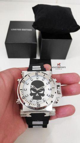 O mais vendido top! Relógio Premium importado à pronta entrega!