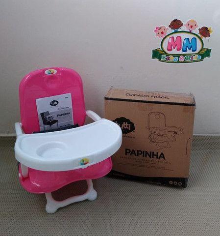 Cadeirinha de Alimentação Portátil Feminina da Tutti Baby - Nova - Foto 2