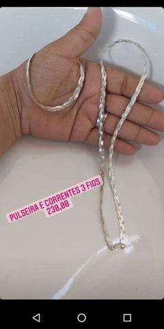 Colar junto com pulseira - Foto 2