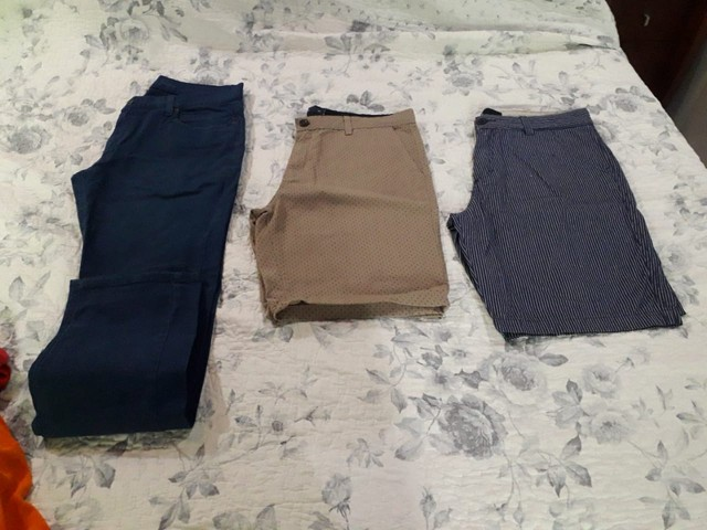 Camisas, calças e bermudas masculinas de marca originais  - Foto 4