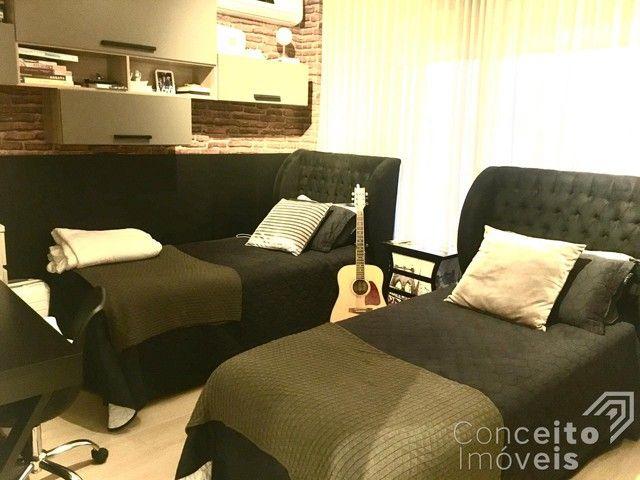 Casa de condomínio à venda com 4 dormitórios em Oficinas, Ponta grossa cod:393415.001 - Foto 13