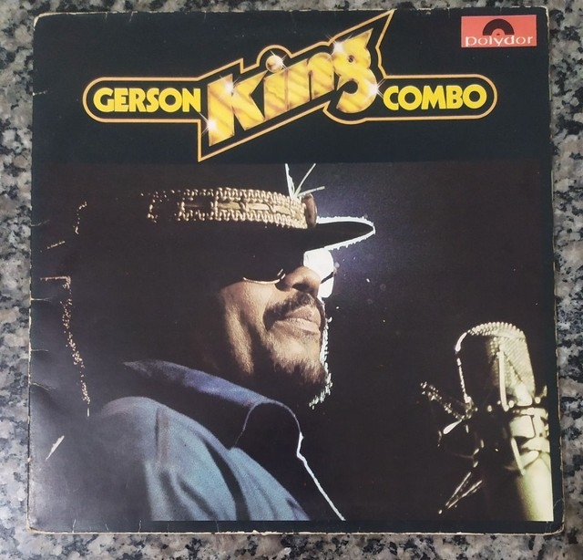 Vendo disco LP GERSON KING COMBO RARIDADE