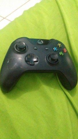 Controle Xbox onde com defeito