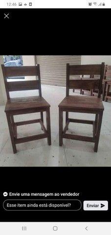Mesas com bancos e cadeiras - Foto 2