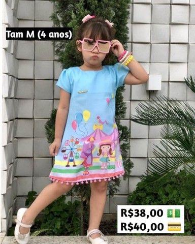 Vestidos 2 a 8 anos - Foto 6