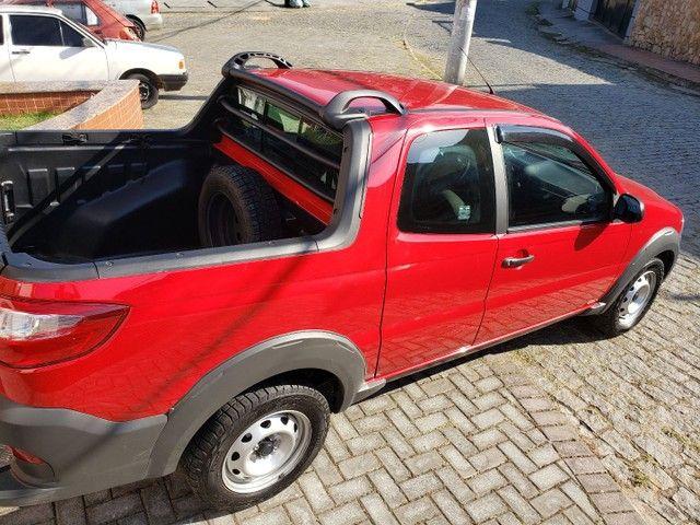 Fiat Strada Cabine Dupla, 3 portas, pouco rodada - Foto 2