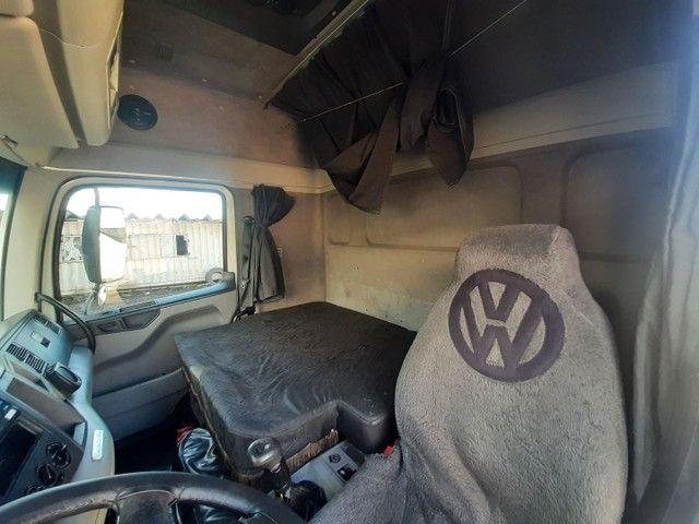 Volkswagen 19-320 2008/2008 cabine leito teto alto 4X2 completo único dono motor novo - Foto 10