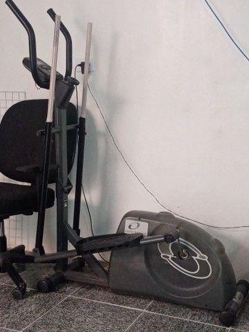Aparelho simulador de caminha elíptico  - Foto 2